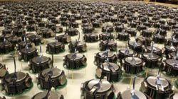 1024개의 로봇이 펼치는