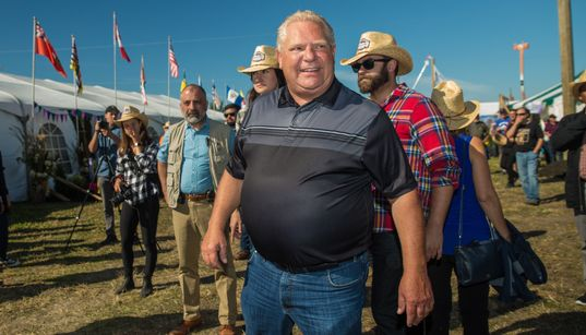 Ford Slams 'Absolutely Classless' NDP After Boos In Rural