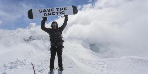 세상의 정상에서 북극 보호를