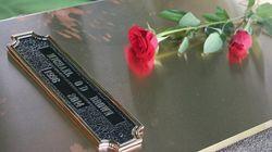 美 퍼거슨 흑인 청년 장례식