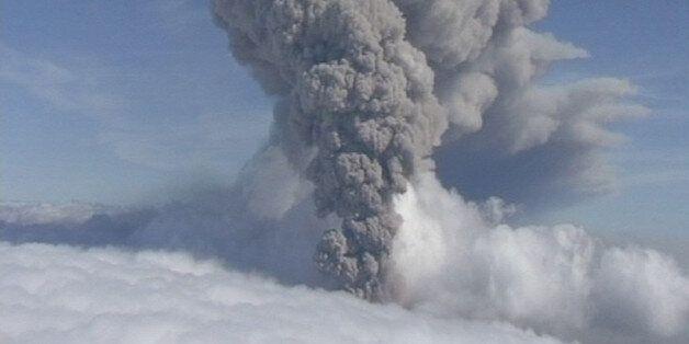 아이슬란드 '바우르다르붕가' 화산 분출
