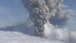 아이슬란드 대규모 화산 분출