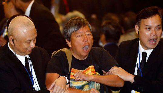 홍콩에 민주주의는 없다? (사진,