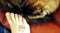 고양이 + 타투 =