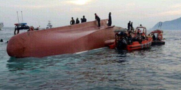 거제서 어선 전복 : 6명 사망 5명 부상