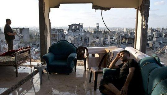 50일의 공습이 가자지구에 남긴 것들