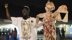 주방위군 투입에도 시위 격화...미국 '퍼거슨 사태'