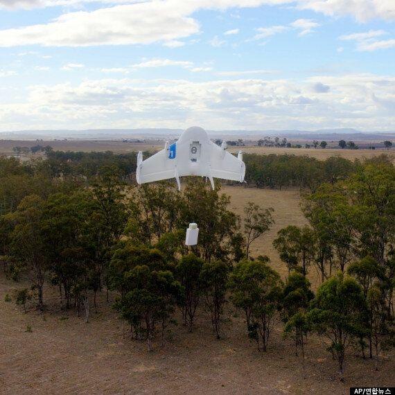 구글, 비밀 개발한 무인기 시험비행