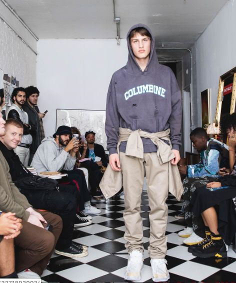 Fashion Brand Debuts School Shooting Hoodies, ...