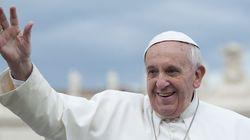 프란치스코 교황의 행복
