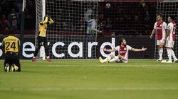 Écrasé à Amsterdam, Lille manque son retour en Ligue des