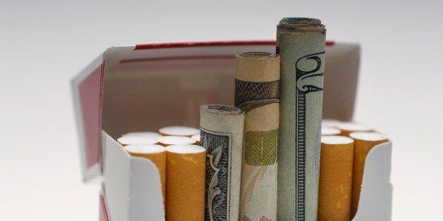 담배 하루 한갑 피우면 세금은
