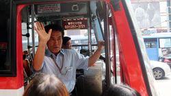 광역버스 입석금지 첫날, 시민들