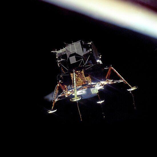 다시 보는 45년전 아폴로 11호 달