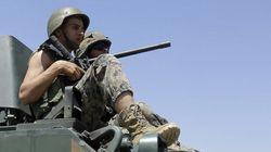 레바논, 월경 시리아 반군과 나흘째