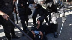 브라질 : 월드컵 끝나고 시위가