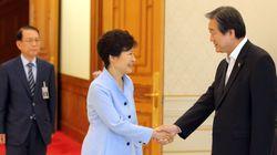 김무성 대표, 김기춘 실장 향해