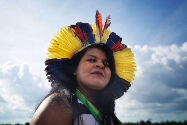 Sônia Guajajara, líder indígena ecoordenadora da Articulação...