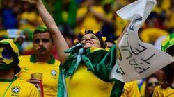 브라질 월드컵에 흑인 관중이 드문