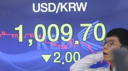 세 자리 눈앞 원달러환율 한국경제
