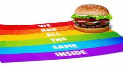 버거킹이 LGBT 인권을 지지하는 특별한