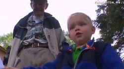 3살 아이의 '베프'는 89세의 옆집 할아버지(사진,