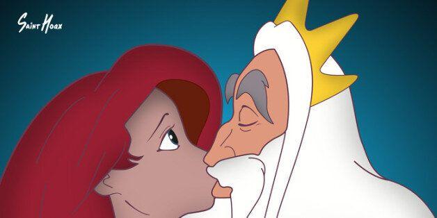 디즈니 공주의 가정 성폭력 방지