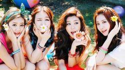 걸스데이, 신곡 '달링'으로 8개 음원차트