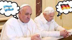 월드컵 : 교황청은 누굴 응원해야