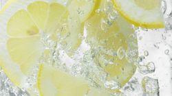 레몬 띄운 물, 마음놓고 마셔도