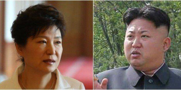 박근혜와 김정은이