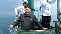공화국의 최신무기 : 북한 김정은의 잠수함 사진