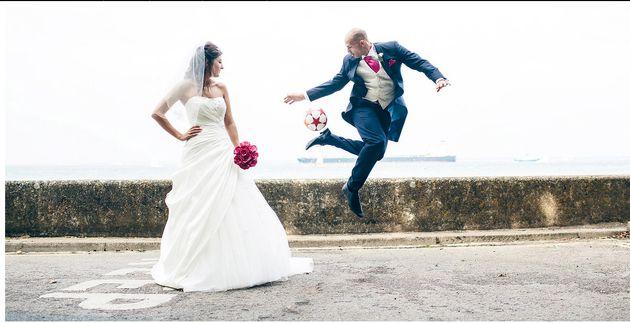 평범하고 지루한 결혼식 입장은 가라!