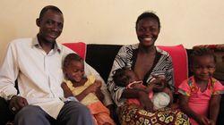 HIV 감염자 부부가 세 아이를 건강하게 키우는