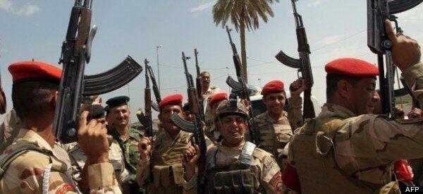 이라크 정부군, 반군 바그다드 부근서