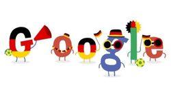 브라질 월드컵 기념 구글 두들
