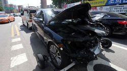 뺑소니 경력 '레바논 대사' 남산3호터널에서 교통사고