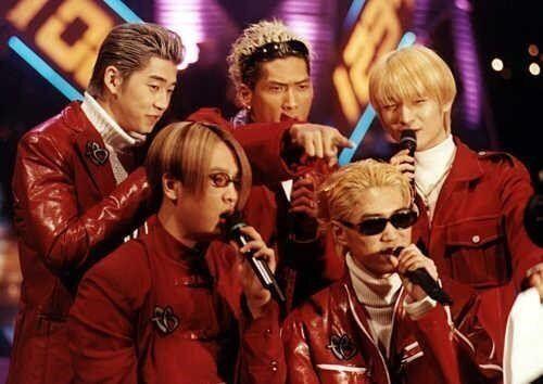 지오디 재결합 : 지오디 다섯 멤버가 12년 만에 입맞추는
