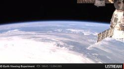 NASA, 우주에서 촬영한 지구 영상