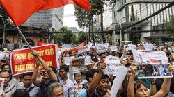 베트남 반중시위 가열...한국업체도 피해
