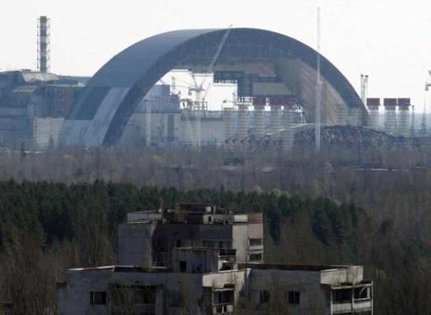 체르노빌 원전 초대형 돔으로