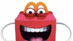 맥도날드의 새 마스코트 '해피'.