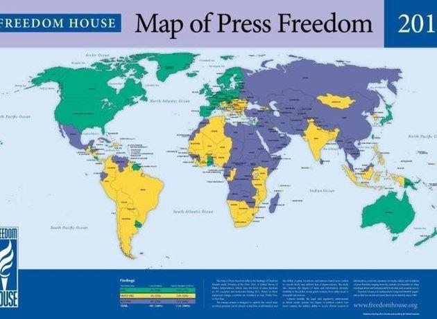 한국 언론자유지수 또 하락