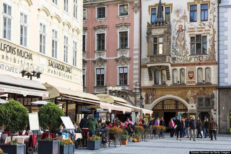 유럽에서 프라하가 가장 예쁜 도시임을 증명하는