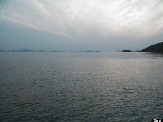 그 섬을 보고
