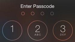 아이폰 비밀번호는 당신을 지켜주지