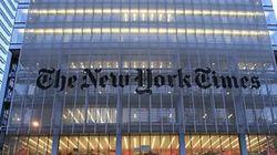 뉴욕타임스에 박근혜 정부 비판