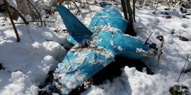 강원도 삼척에서 세 번째 무인기가 발견됐다. 국방부는 6일 경기도 파주에서 발견된 것과 비슷한 기종이라고