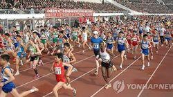 평양에서 열린 마라톤 대회