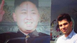 김정은 사진 내건 런던 미용실에 북한 관리 찾아와